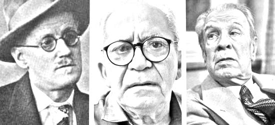 Histórias de Literatura e Cegueira {Borges, João Cabral e Joyce}