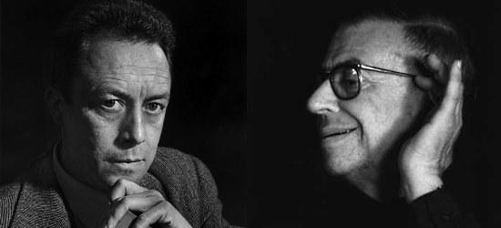 Albert Camus e Jean-Paul Sartre