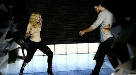Madonna e Justin Timberlake (Foto: Divulgação)