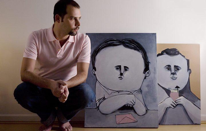 O cartunista André. (Foto: Divulgação)