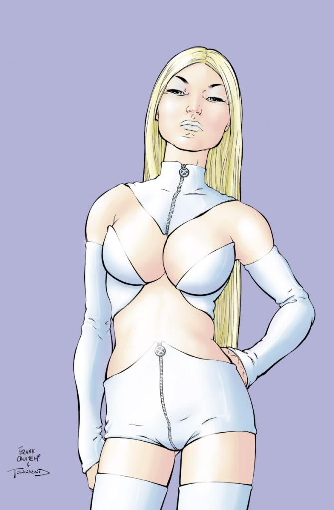 Emma Frost é um dos nomes mais importantes dos X-Men hoje (Divulgação)
