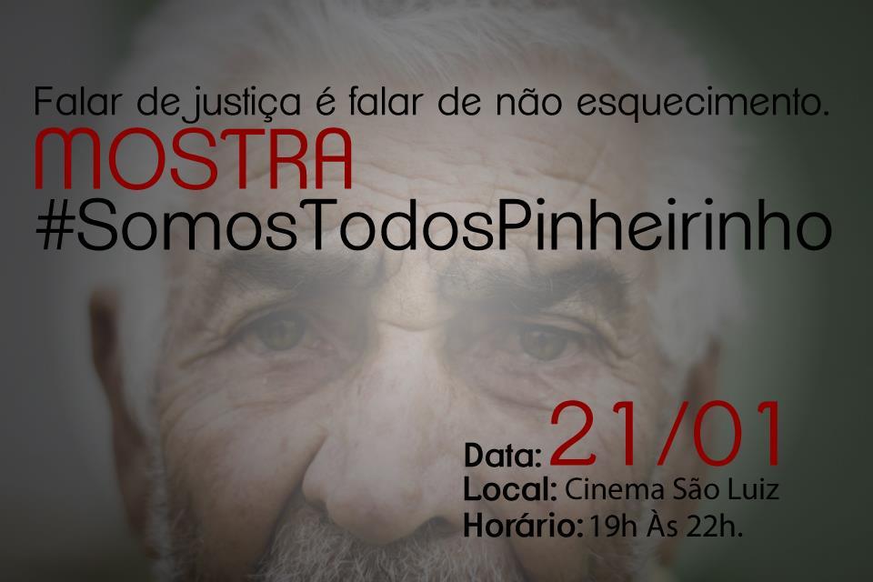 #SomoTodosPinheirinho-banner. Arte-Gisely Melo