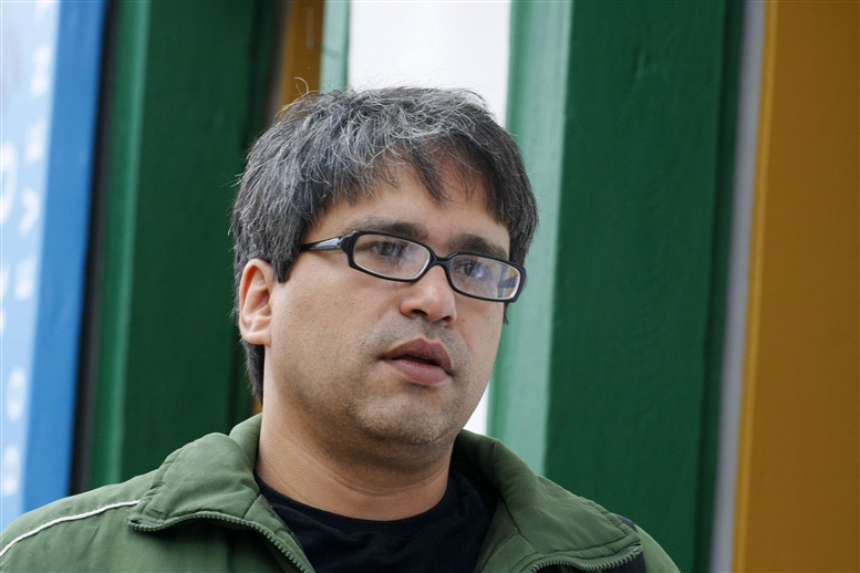 O curador da Mostra de Tiradentes, Cleber Eduardo (Foto: Leo Lara/Divulgação)