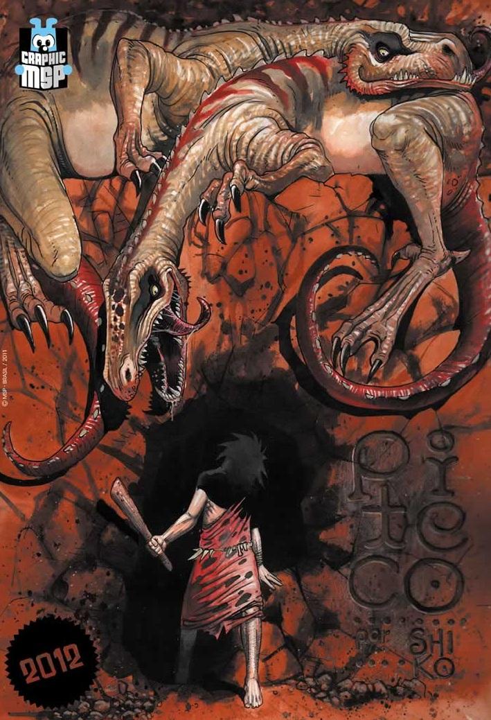 Shiko irá assinar uma graphic novel de Piteco, personagem de Maurício de Sousa (Divulgação)