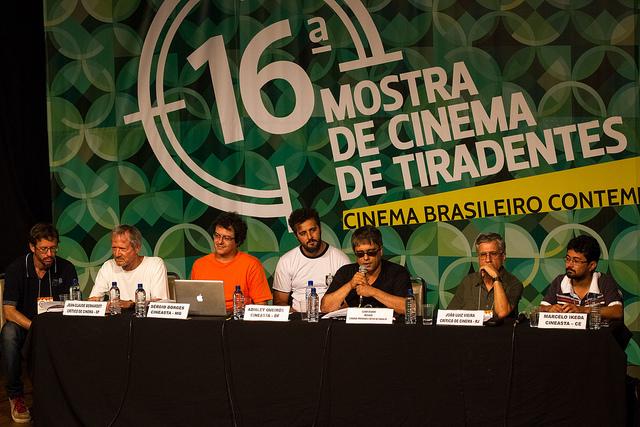 Debate levantou questões do cinema nacional de hoje (Foto: Divulgação)