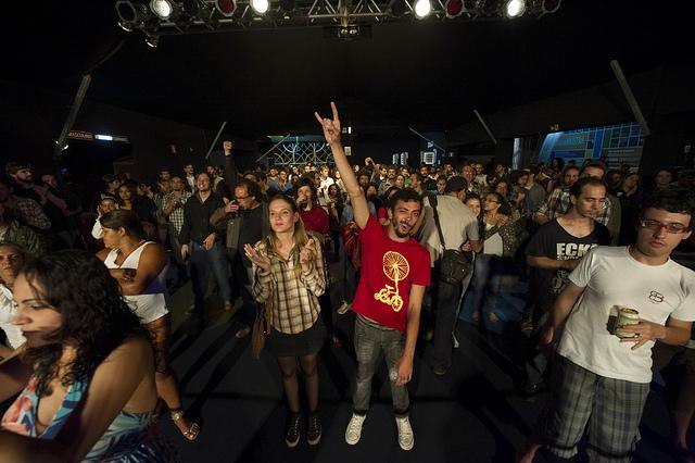 O cine-tenda (Foto: Beni Jr. / Divulgação)